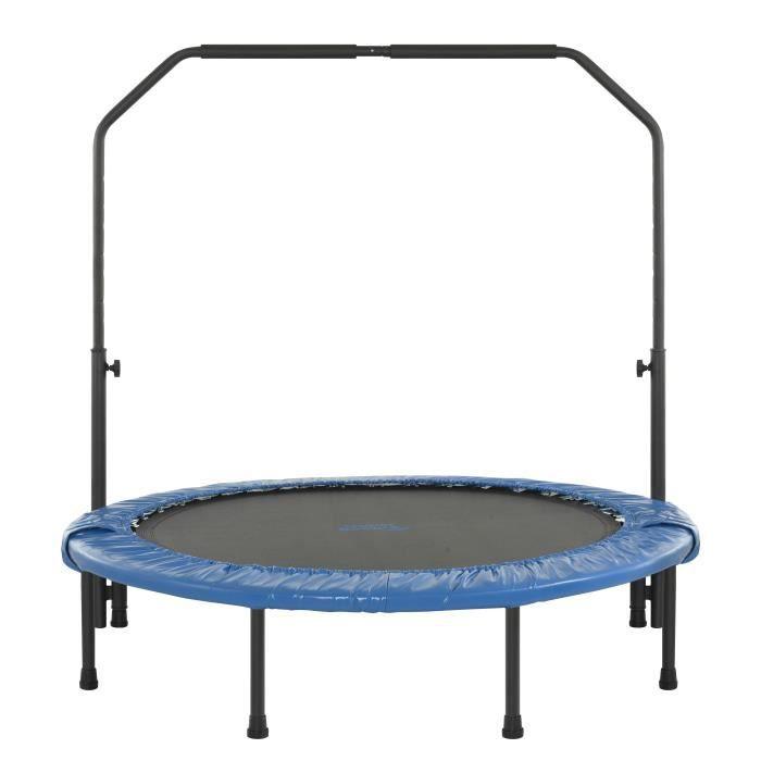 Upper Bounce Mini Trampoline Pliable pour la Remise en Forme - Fitness - 120 cm