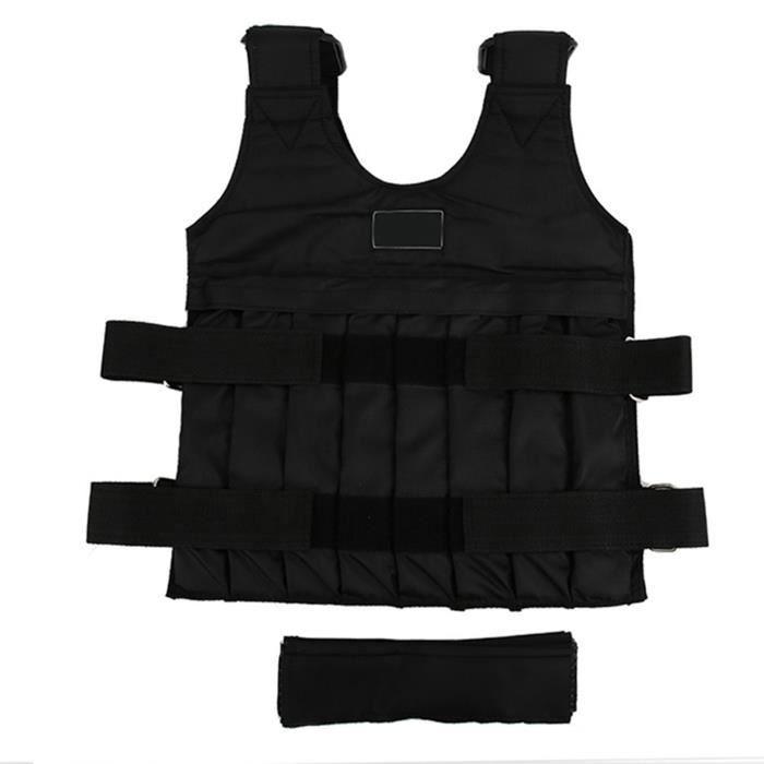 Gilet d'entraînement pondéré réglable d'exercice de gilet / veste de la charge 20kg maximum-HEN