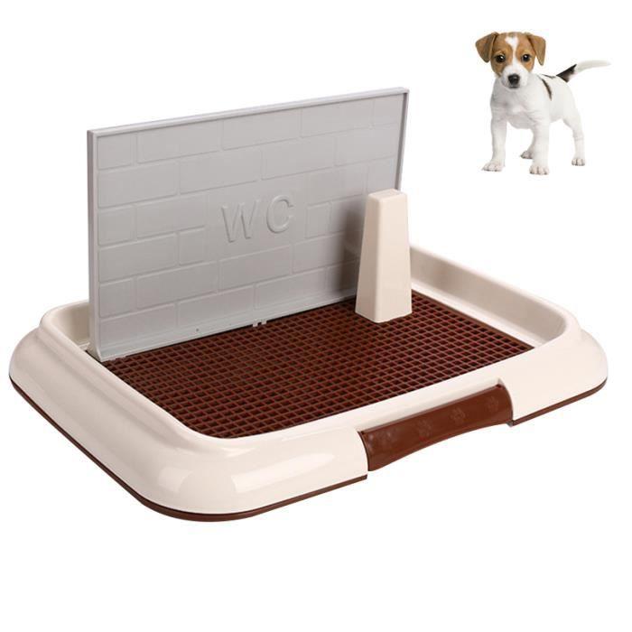 Toilette en plastique Entraîneur de pot pratique pour animaux de compagnie Toilette d'entraînement pour chien portative