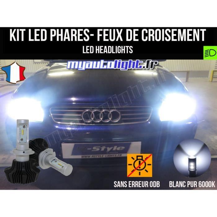 Kit Ampoules de phares à LED H7 Haute Performance pour AUDI A3 8L