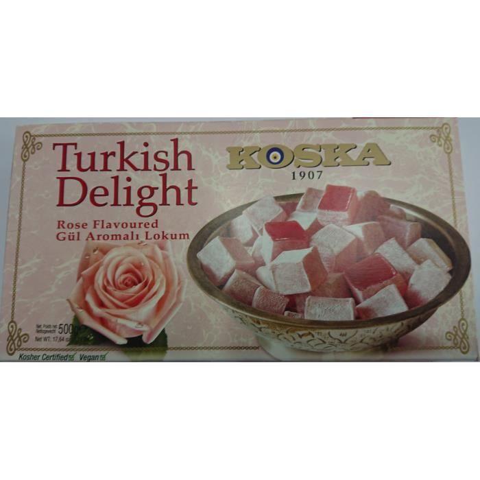 Loukoums à la Rose 1 Kg (2* 500 g)