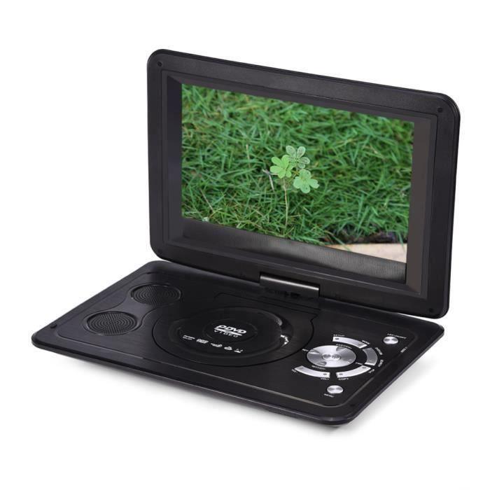 13,9 pouces Lecteur DVD portable 110-240V HD TV Écran LCD 800 * 480 résolution 16: 9 Lecteurs DVD