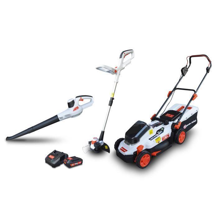 Kit 3 machines rechargeables 20V max - Elem Garden
