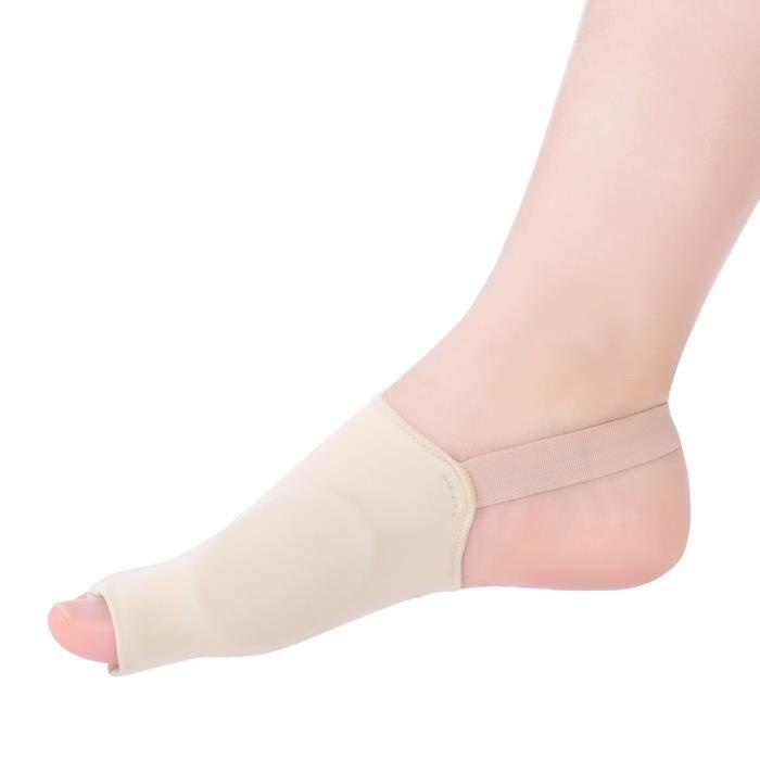 Redresseur d'orteils correcteur d'oignons, correcteur Hallux Valgus amélioré Jour nuit avec ceinture de correction pour gros os