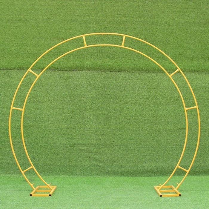Arche de Jardin en Mtal Patio Arceau Arche Rosiers Arc de Mariage en mtal dcorations lgantes Grand Arc de Ballon dor pour la[3549]