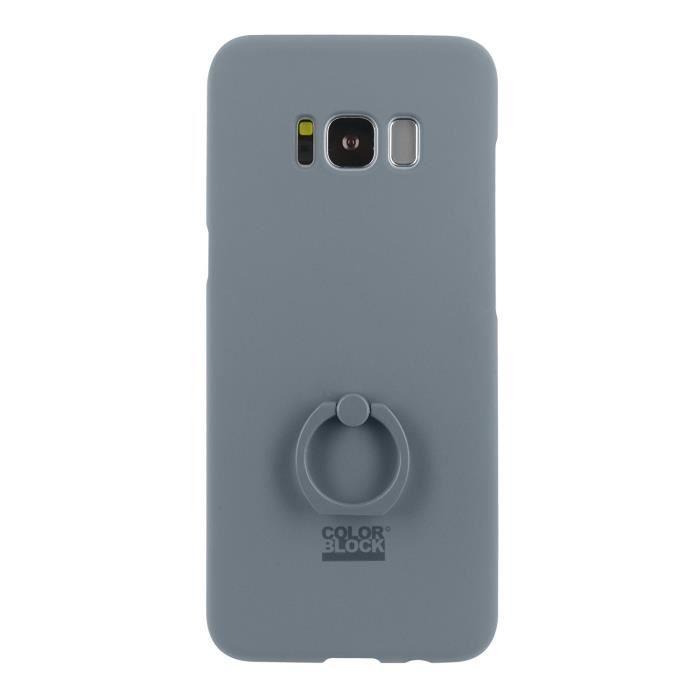 Colorblock CBCOVRINGGS8GR, Housse, Samsung, Galaxy S8, 14,7 cm (5.8-), Gris