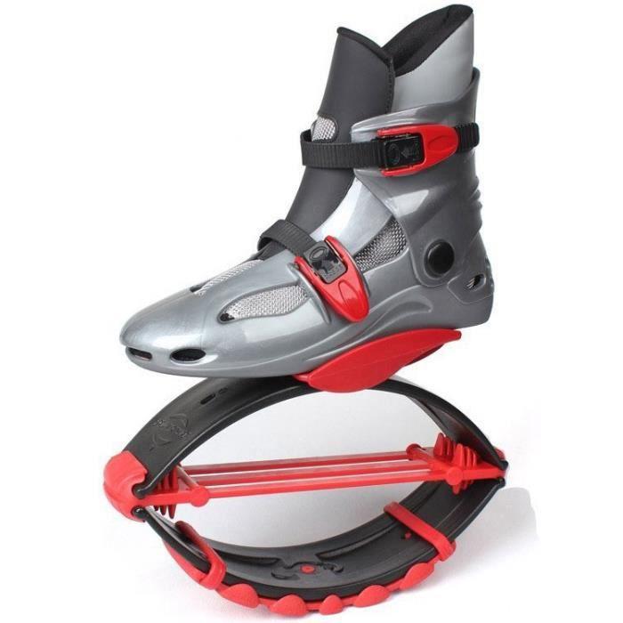 Chaussures Jump Chaussures Rebound Recommandé Poids 20-70kg (40lb-154lb) Chaussures Bounce S / M / L pour Enfant Garçon Fille