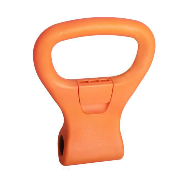 Booster de clip d'haltères Halttlebell poignée de kettlebell poignée ajustable