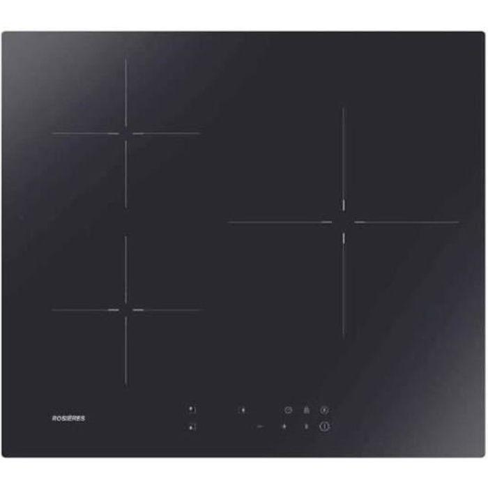 Table de cuisson induction RI633CTT ROSIERES Noir