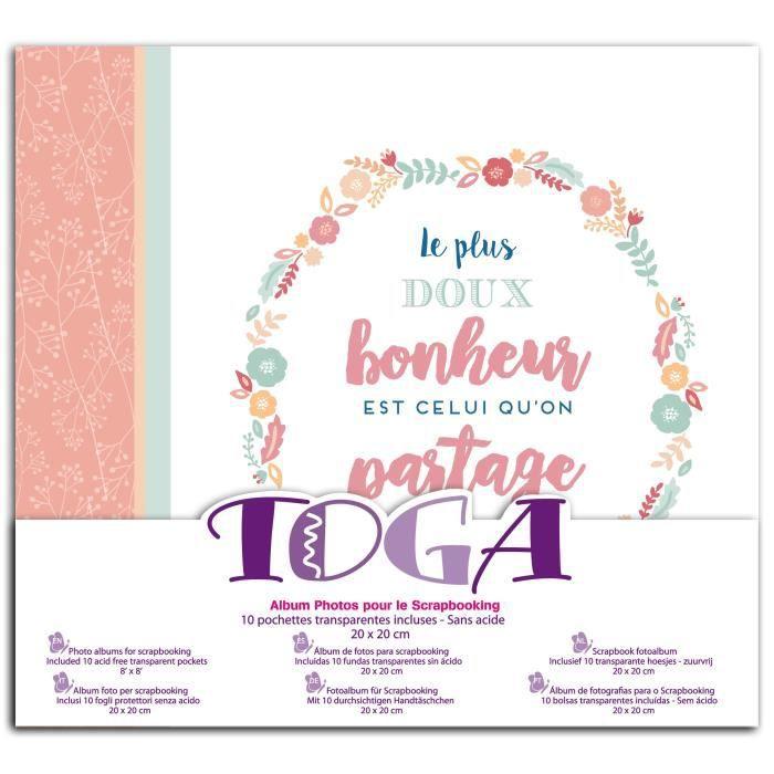 TOGA Album bonheur- 20x20cm