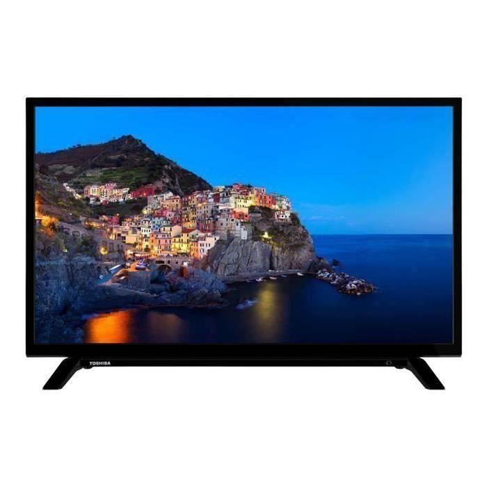 TOSHIBA 32WL1A63DG TV LED HD - 32- (80cm) - Dolby Audio - HD Ready - 3xHDMI - 2xUSB - Classe énergétique A+