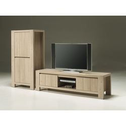 Meuble tv contemporain sybel 2 portes mb achat - Meuble tv contemporain ...