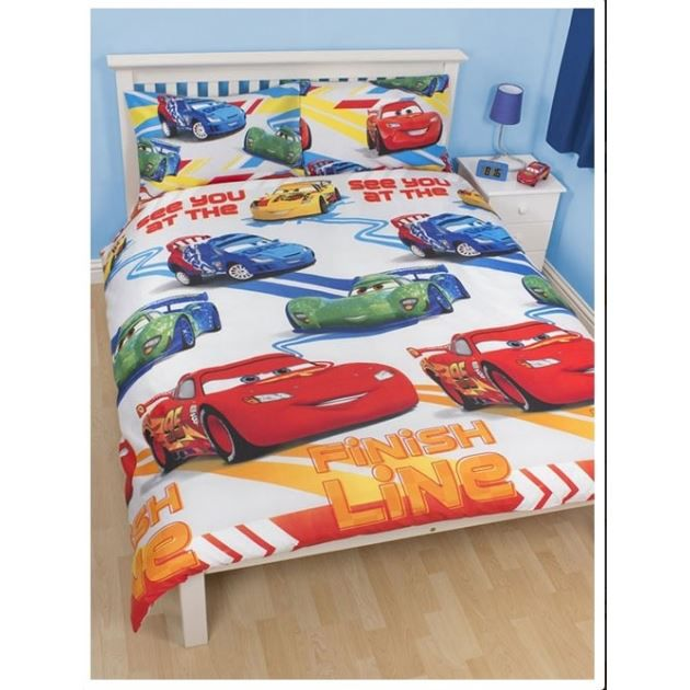 disney cars housse de couette parure de lit achat. Black Bedroom Furniture Sets. Home Design Ideas