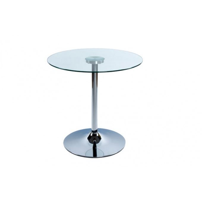 table basse verre ronde transparent achat vente table basse table basse verre ronde tra. Black Bedroom Furniture Sets. Home Design Ideas
