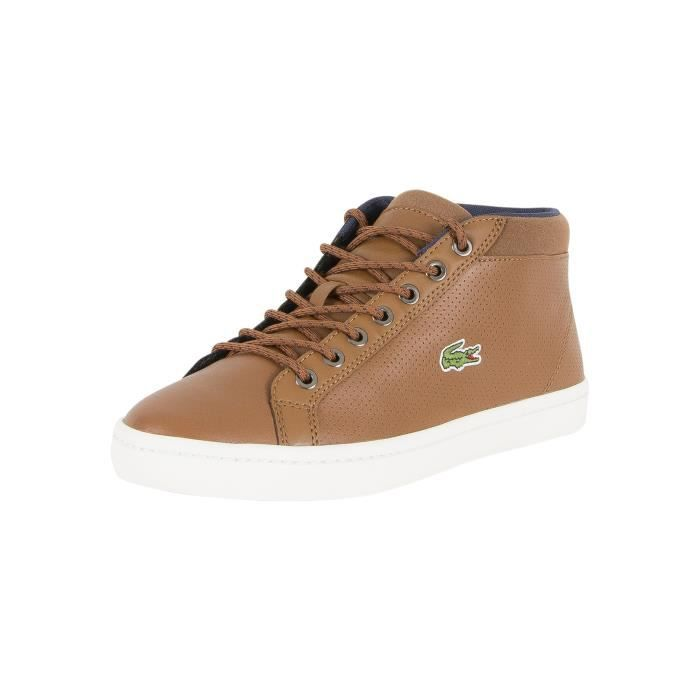 54dcb7a9a9 Lacoste Homme Straightset SP Chukka 3171 Formateurs CAM, Marron ...