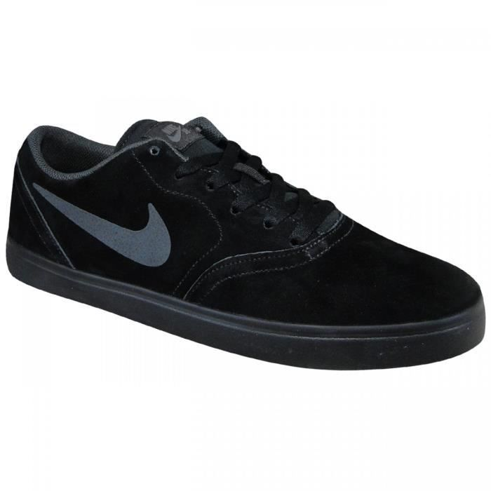 reputable site c22f9 14309 BASKET Baskets NIKE SB Check Noires. 705265-005.