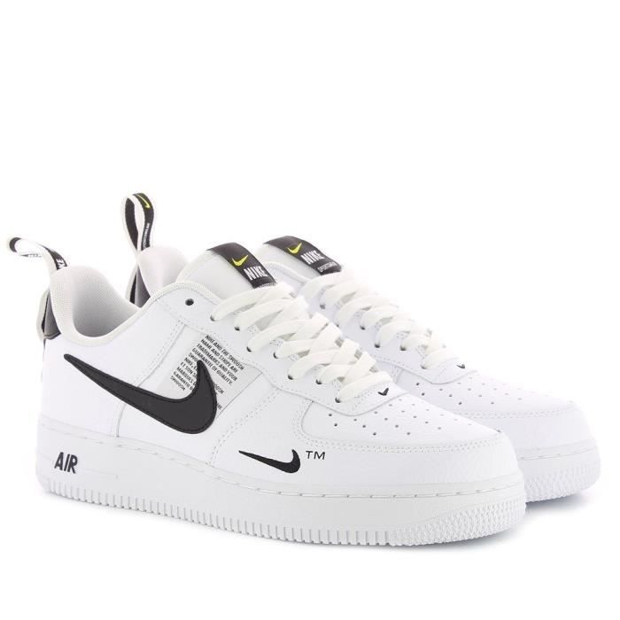 air force 1 utility jaune fluo