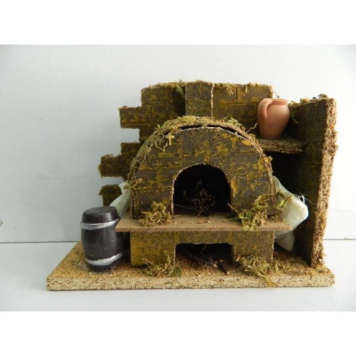 Paysage miniature four à pain Crèche De Noël   Achat / Vente