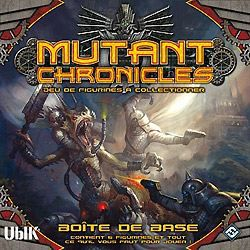 FIGURINE - PERSONNAGE Mutant Chronicles Jeu de Figurines à Collectionner