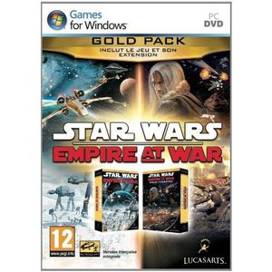 JEU PC STAR WARS EMPIRE AT WAR - GOLD / Jeu PC