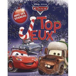 LIVRE JEUX ACTIVITÉS Top jeux Cars