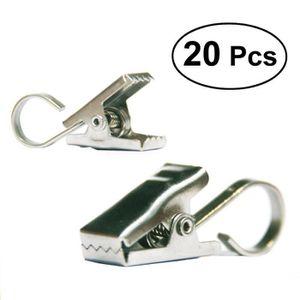 Tringle tube télescopique de 120 à 210cm METALLIC gris Incl anneaux