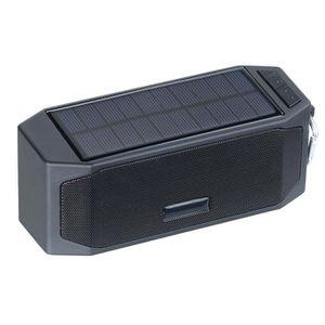 ENCEINTE NOMADE Haut-parleur solaire, bluetooth avec fonctions bat