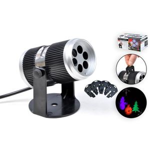 PROJECTEUR LASER NOËL Projecteur intérieur LED - Taille : Ø 6,5 cm / L 1