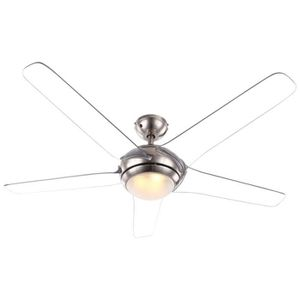 VENTILATEUR DE PLAFOND Ventilateur de plafond LED 20 W télécommande éclai