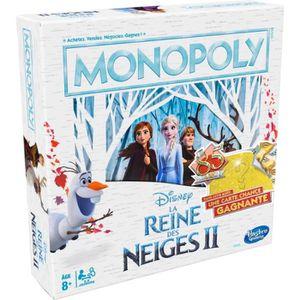 JEU SOCIÉTÉ - PLATEAU Monopoly La Reine des Neiges - Jeu de societe - Je