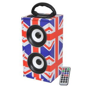 PACK SONO ENCEINTE AMPLIFIEE BATTERIE USB BLUETOOTH SD MP3 T