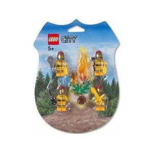 ASSEMBLAGE CONSTRUCTION Lego 853378 - Lego City - Set de 4 personnages …