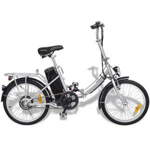 VÉLO ASSISTANCE ÉLEC Vélo électrique pliable et pile lithium-ion Alliag