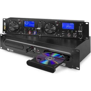 PLATINE DJ Double lecteur CD-MP3-USB - Mémoire anti-chos - Ra