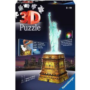 PUZZLE RAVENSBURGER 12596 Puzzle 3D Statue de la Liberté