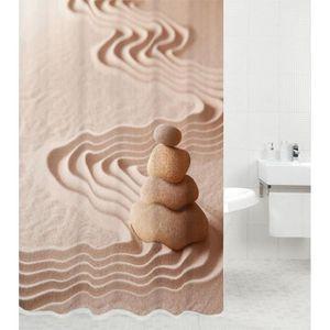 RIDEAU DE DOUCHE Rideau de douche Zen 180 x 200 cm | de haute quali