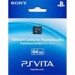 CARTE MÉMOIRE CONSOLE 64GB PS Vita SONY Memory Card Officielle [Import J