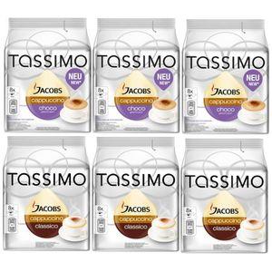CAFÉ Tassimo Jacobs Cappuccino Choco + Jacobs Cappuccin