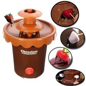FONTAINE A CHOCOLAT NEUFU Fontaine à Chocolat Cascade Machine 2-Étage
