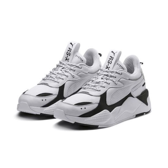 Baskets Puma RS-X Core Homme Blanc - Cdiscount Chaussures