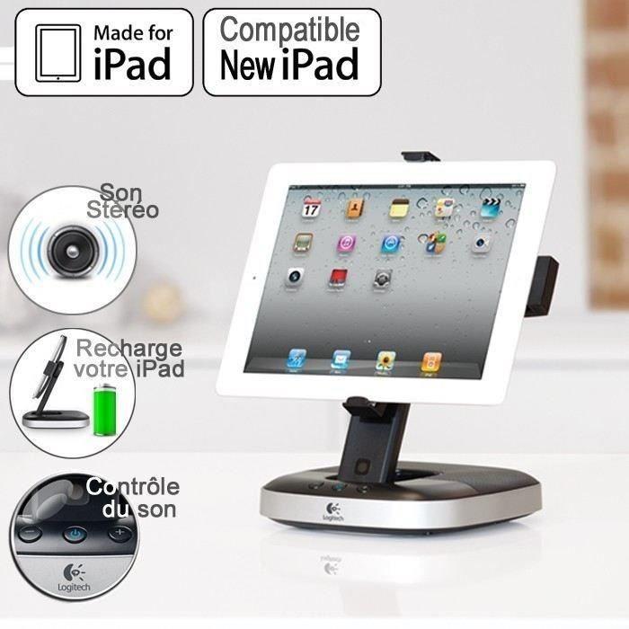 ENCEINTES ORDINATEUR Logitech support audio pour iPad - Speaker Stand