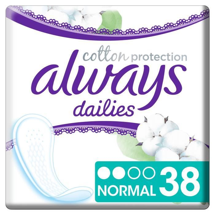 ALWAYS Protège-Slips Dailies Cotton Protection