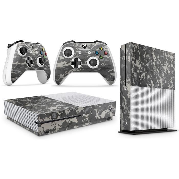 GNG Xbox One S DIGITAL CAMO Console Skin Decal Sticker + 2 Controller Skins
