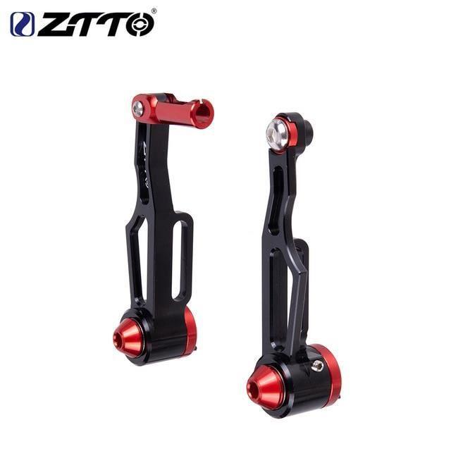 Pièce Détachée,ZTTO 1 paire freins de vélo en aluminium V leviers de frein pinces de frein poignée vélo de - Type Black V-Brake SL