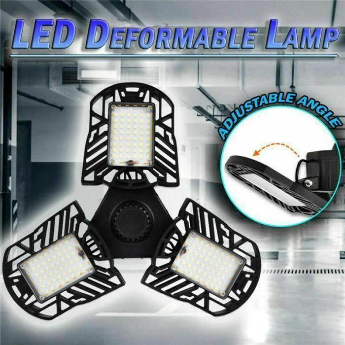E27 144 LED Ampoule haute puissance 7000LM 60W plafonnier de garage projecteur AC220V Ve10797