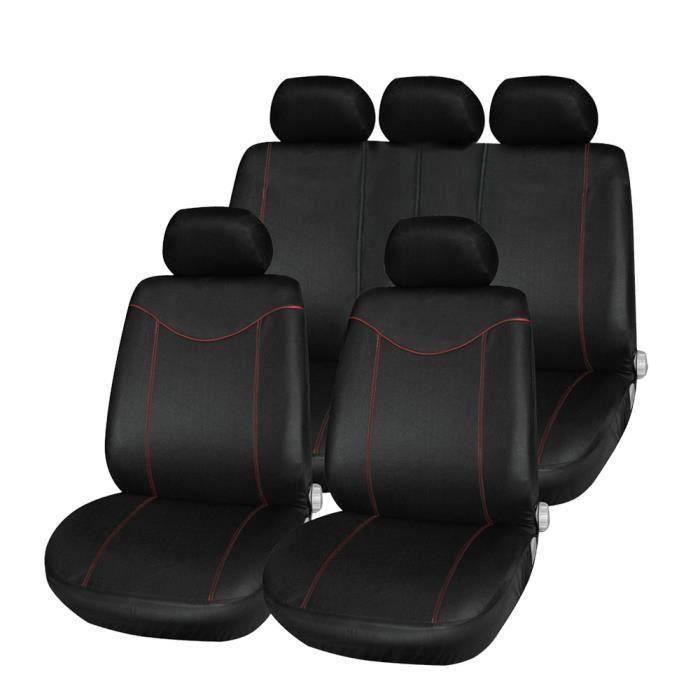 Housse de Siège Auto Universelle coussins pour Siège Voiture,Protecteur de siège,Couvre Siège voiture,Siège de housse de voiture