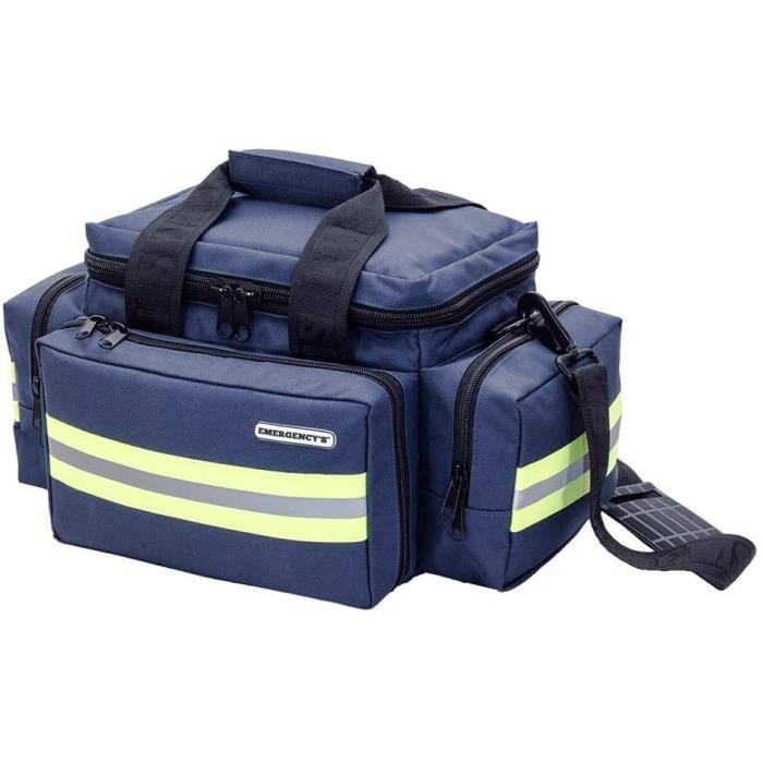 Sac pour le matériel d'urgence bleu