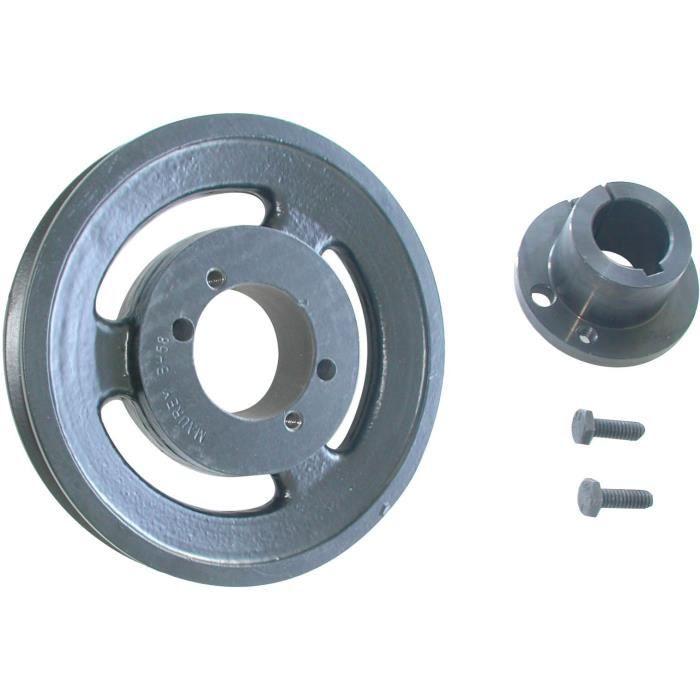 Poulie avec moyeu adaptable pour SCAG - H: 30,16mm, Ø: ext: 146mm, Ø int: 27mm
