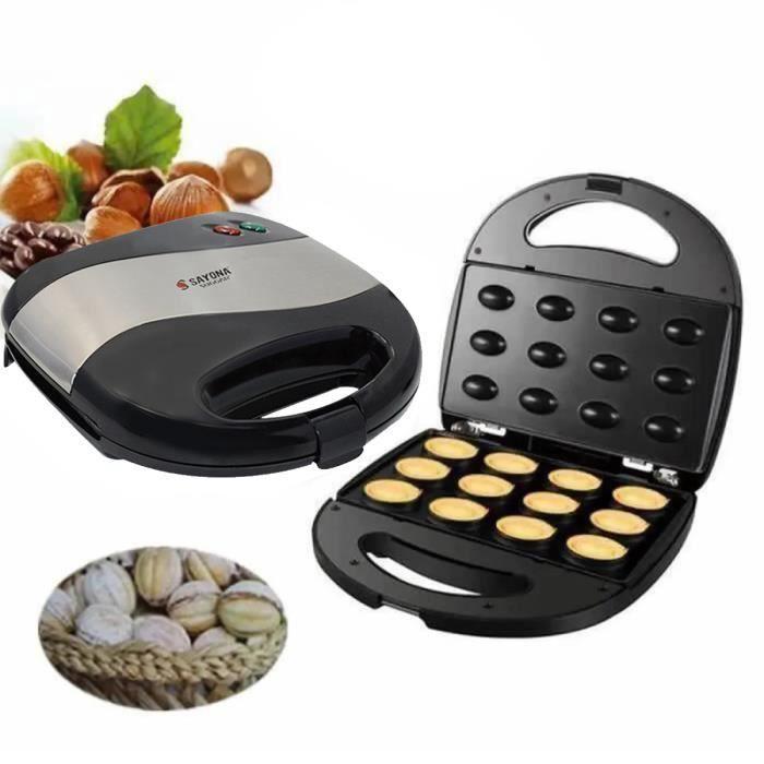 JOULLI 3 en 1 Machine à biscuits électrique à gâteau aux noix