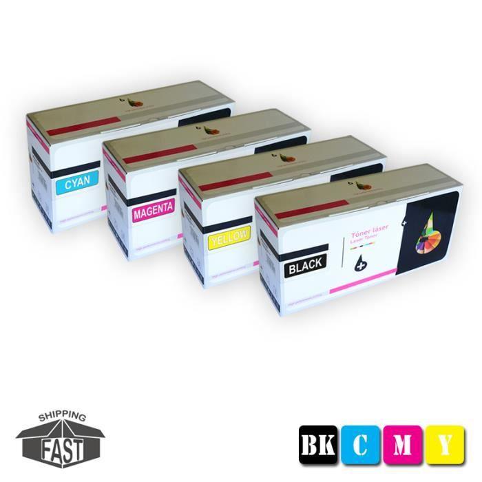 4 Cartouches De Toner Assorties Premium Compatibles Tn241 Bk Tn245 Y pour imprimante Brother Dcp 9020Cdw
